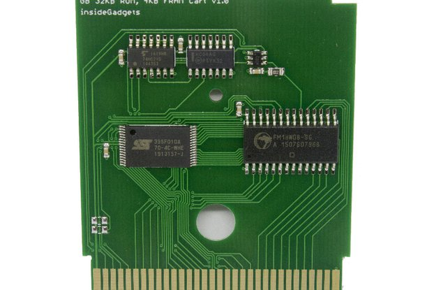 Gameboy 32KB 4KB FRAM Flash Cart