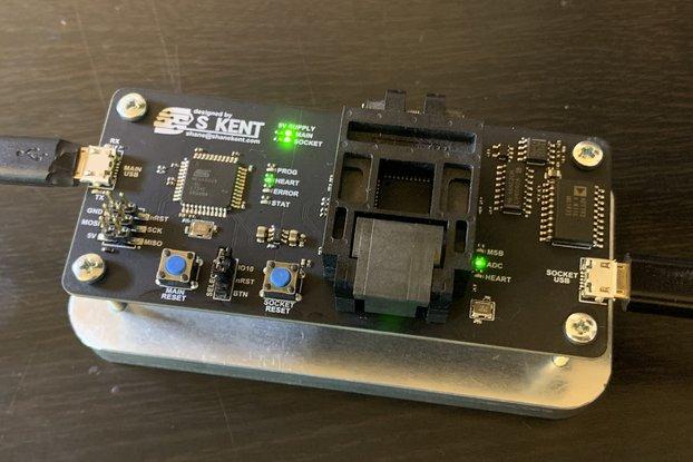 ATMEGA32 Socket Programmer