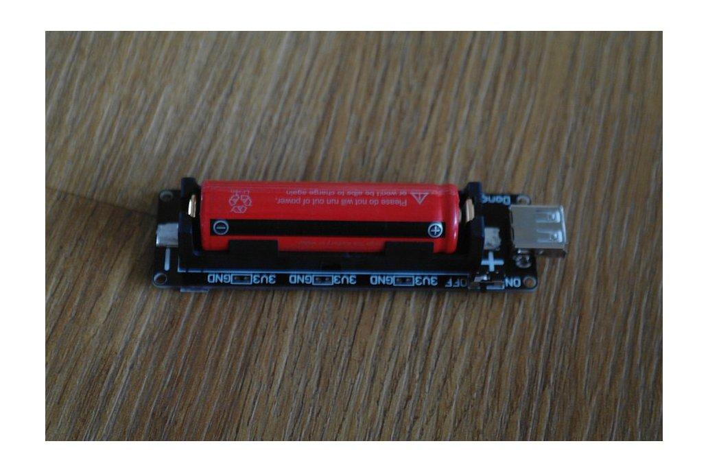 18650 Battery shield V2 (3V Output&5V Output) 1