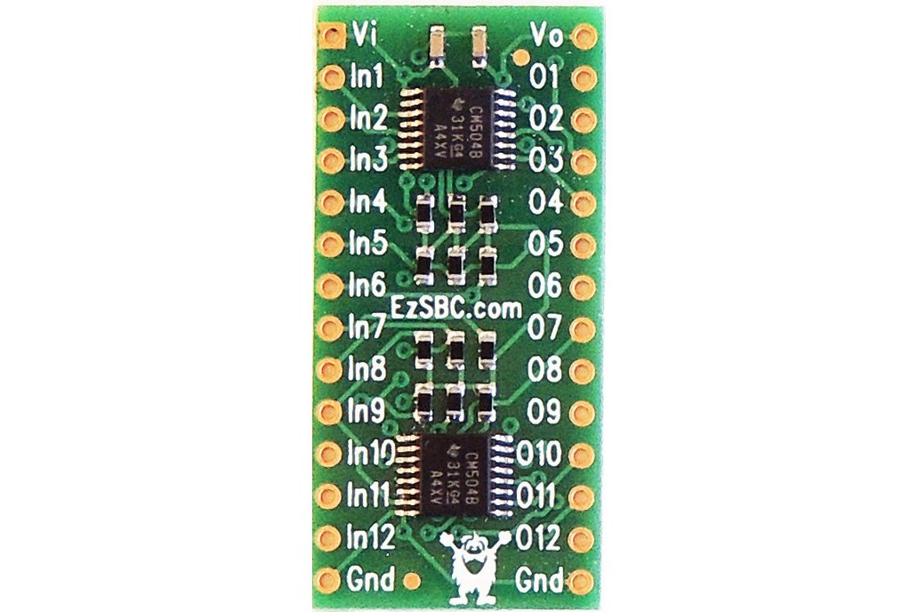 12 Channel Level Shifter and Buffer 1