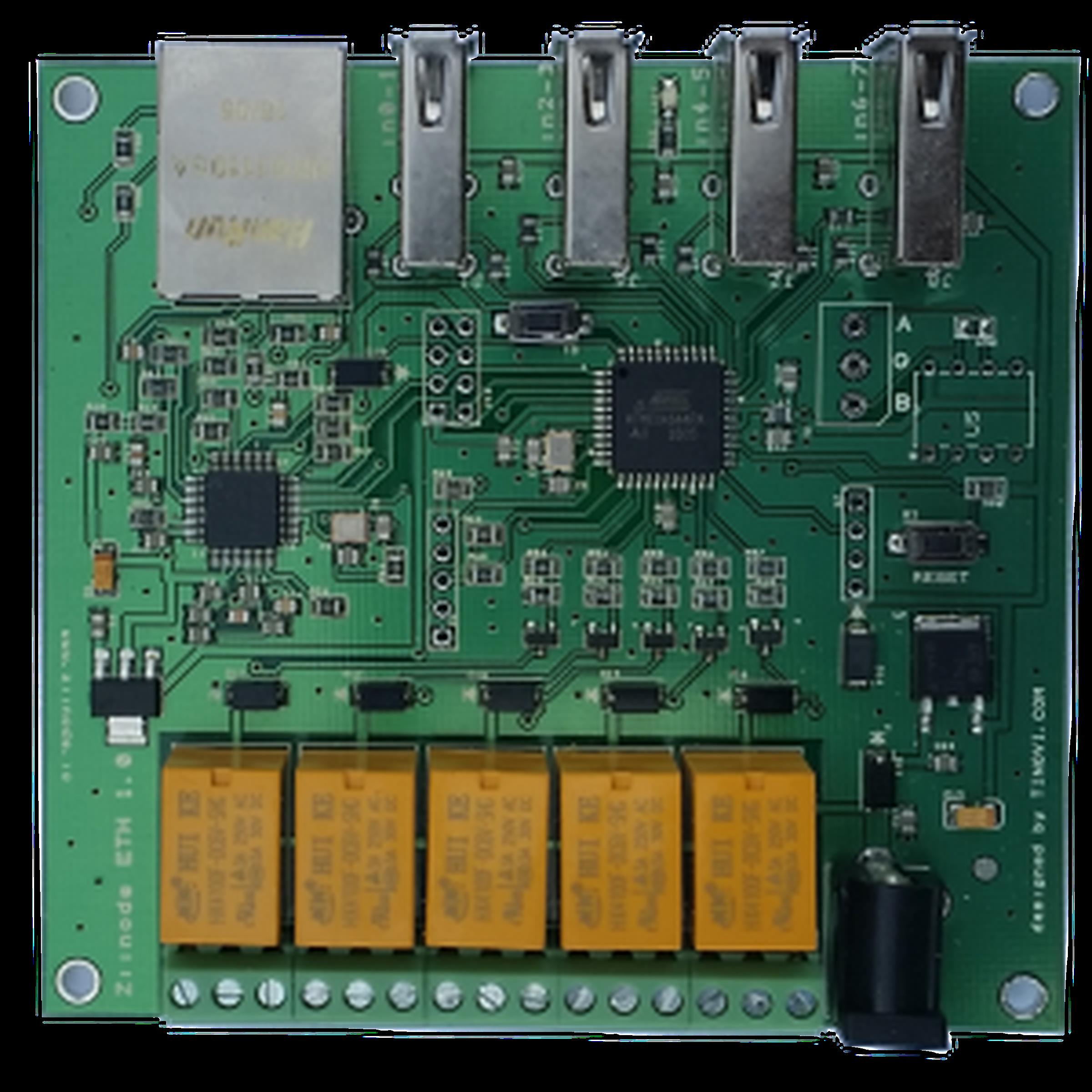 Iot arduino avr ethernet development board from tinovi on