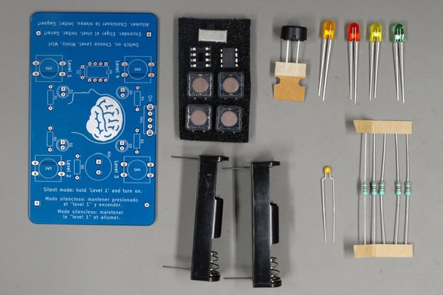 Memory Game (Simon) - Soldering Practice Kit