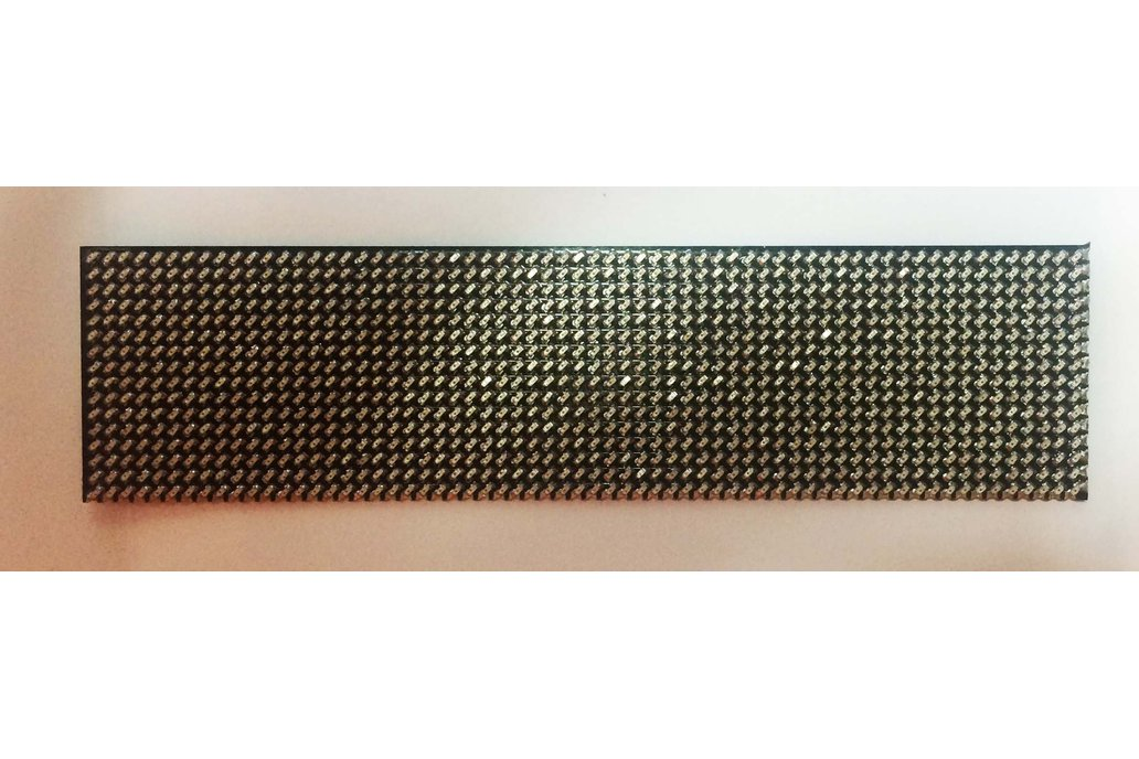 Nano Dot Matrix 16 x 64 0402 size LED board 8