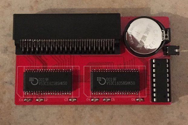 OpenAmiga600RamExpansion - 1 MB Chip RAM Expansion