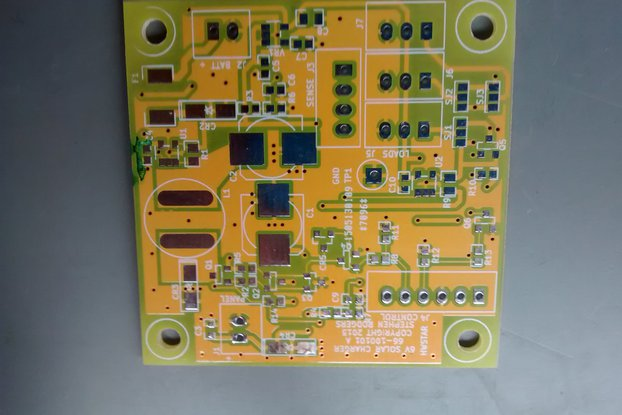 Board Blank: 6 Volt 5 Watt Solar Charge Controller