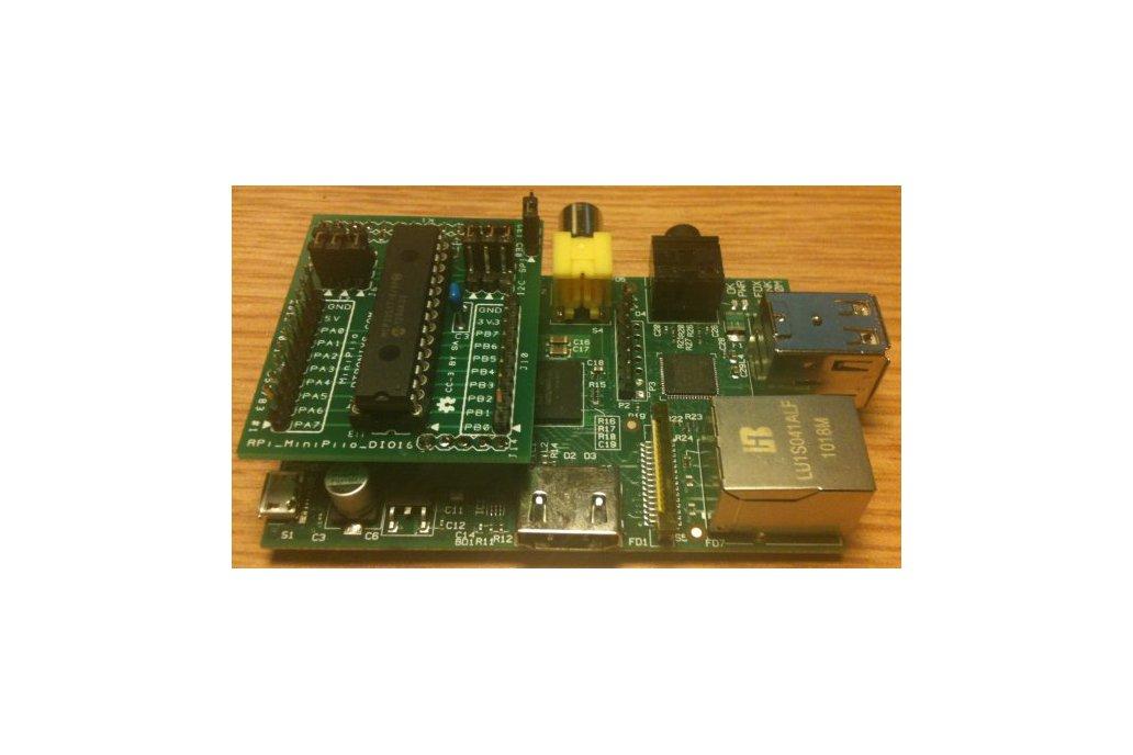 Raspberry PIIO - DIO16 16ch I2C Port Expander  1