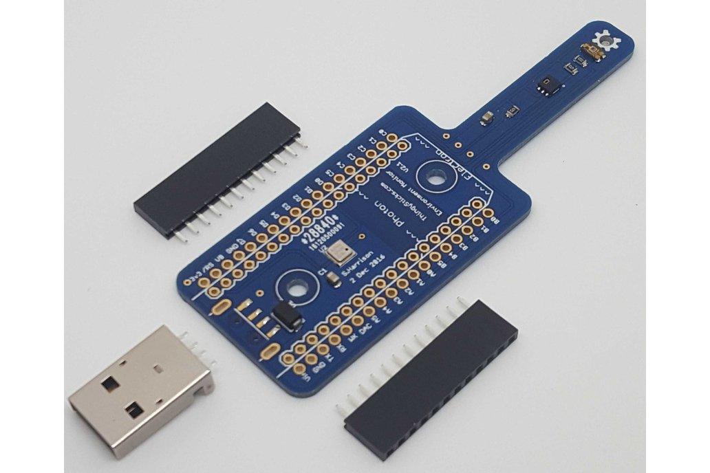 Environment Sensor for the Photon or Electron. 1