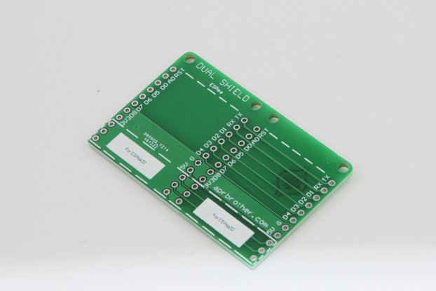 10pcs ESPea Dual Shield Arduino Development Board