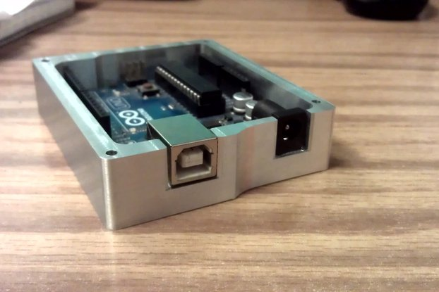 Machined Aluminum Arduino Tray