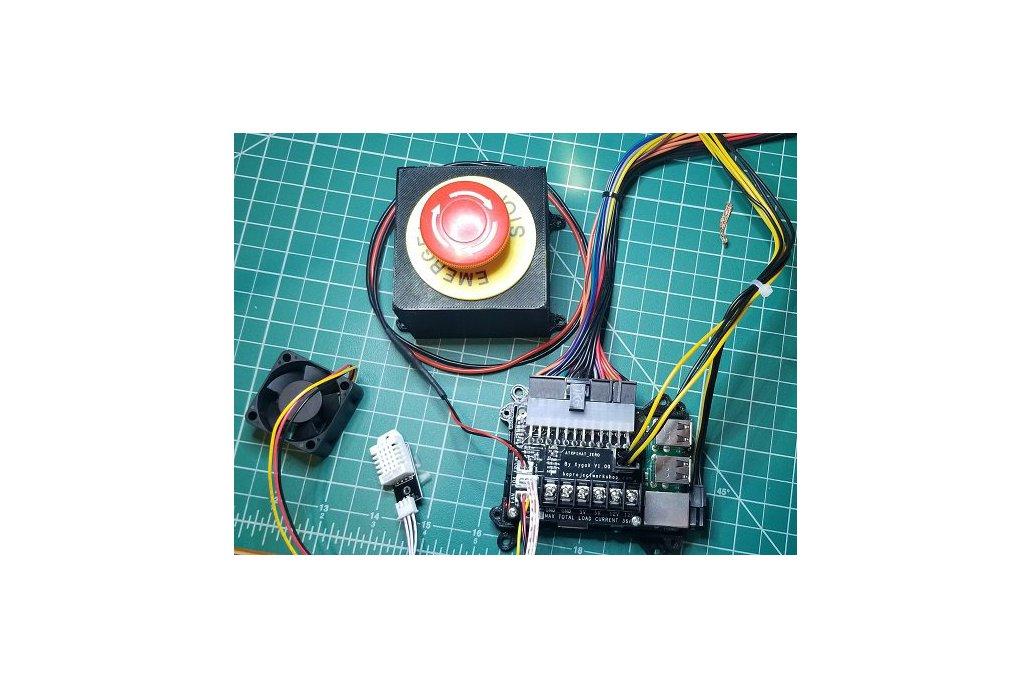 ATXPiHat Zero - ATX PSU Interface for 3D printers 2
