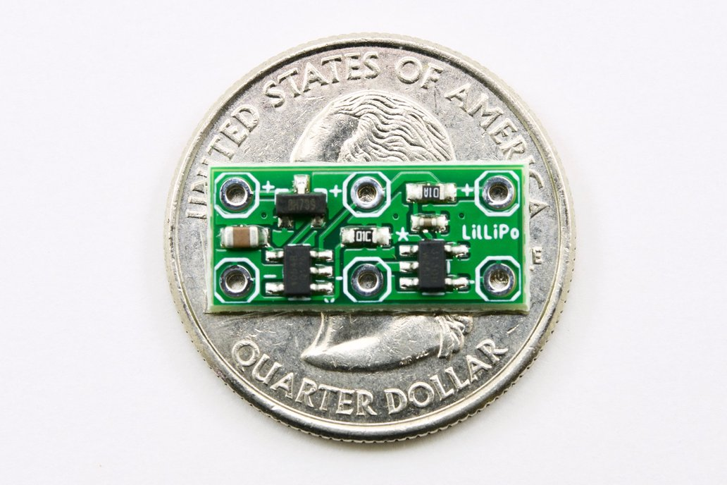 LilLiPo Charger + Under/Short LiPo Protection 1