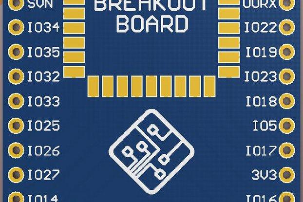 ESP3212 Breakout Board