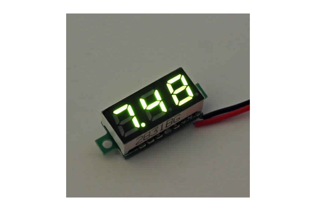 Geekcreit® 0.28 Inch 2.5V-30V Mini Digital 3