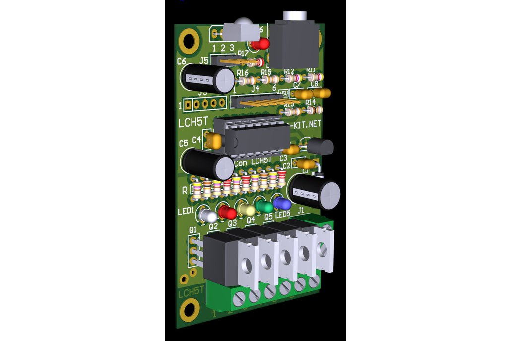 Color Organ 5 Channel PWM Controller LCH5T 5