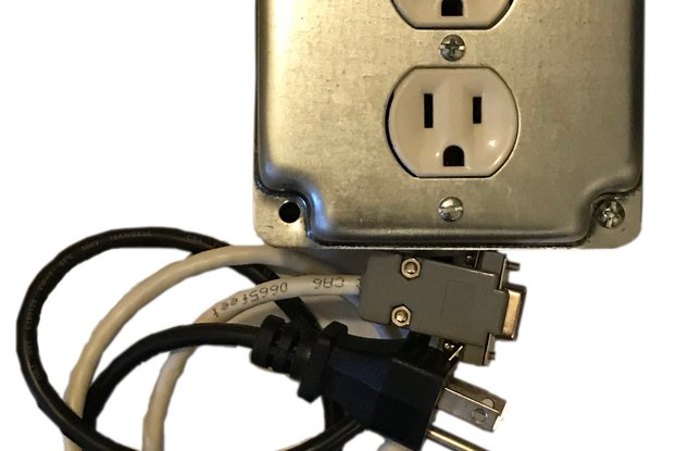 RS232 Controlled Outlet