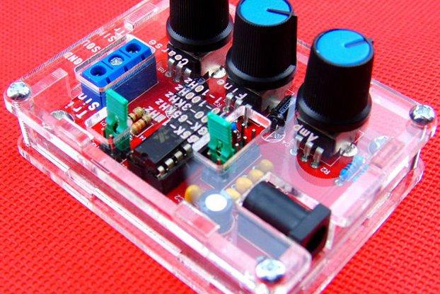 1Hz-1MHz  Function Signal Generator Sine Triag Sqr