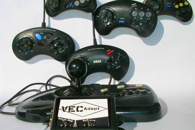 VecAdapt: Vectrex to Sega Controller Adapter