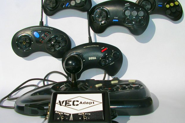 VecAdapt: Vectrex to Sega Controller Adapter