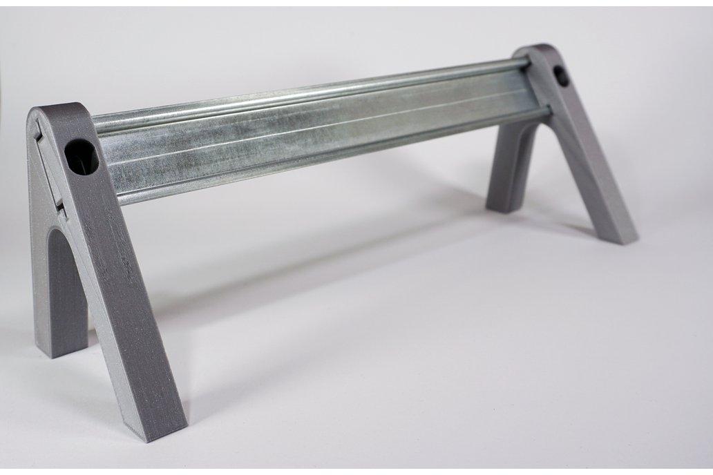 DIN Rail Desktop Stand Reclined v2 1