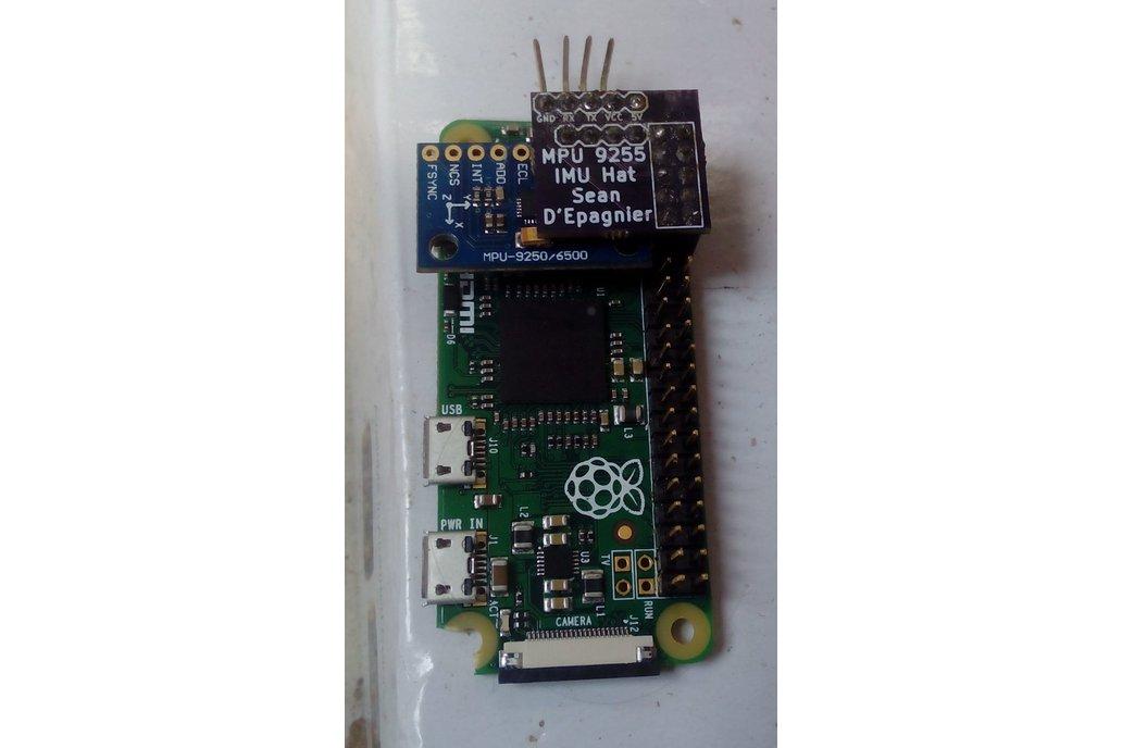 raspberry pi imu hat mpu9255 1