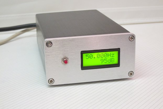 Mains AC Frequency Meter