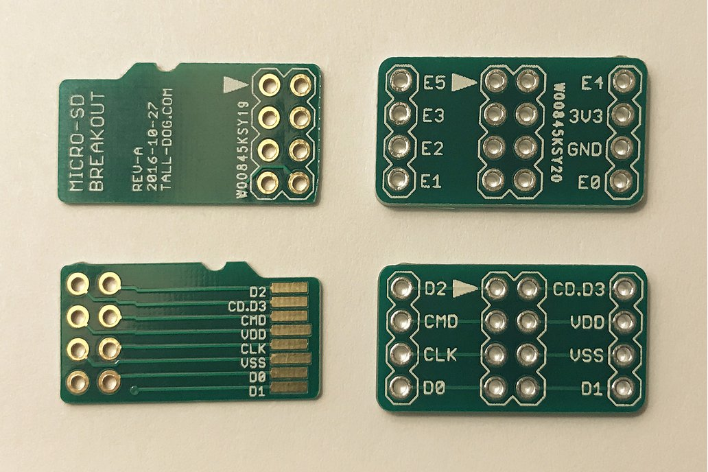 Micro SD Breakout 2