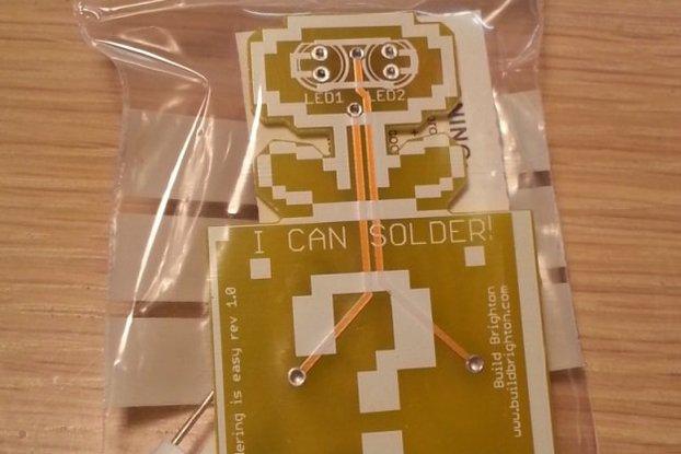 Soldering Is Easy Badge