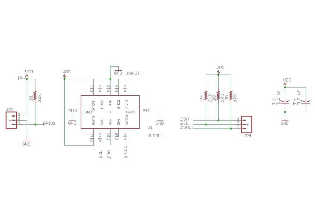 VL53L1 long-range proximity sensor 5