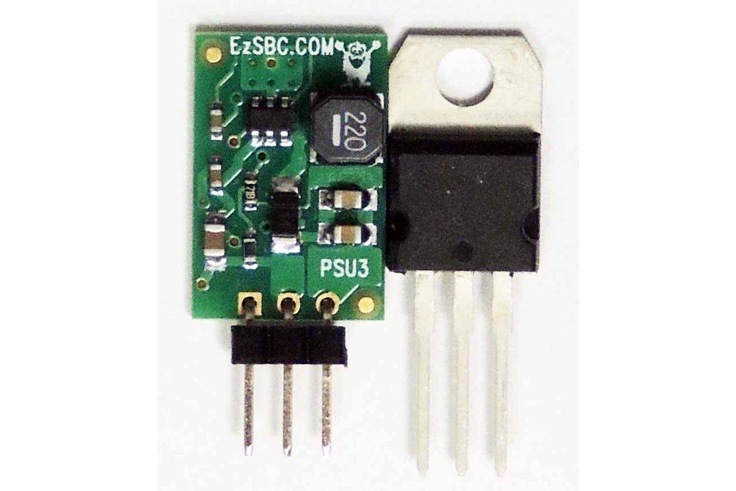 5V 1A Switch-Mode Voltage Regulator, 40V Max input 1