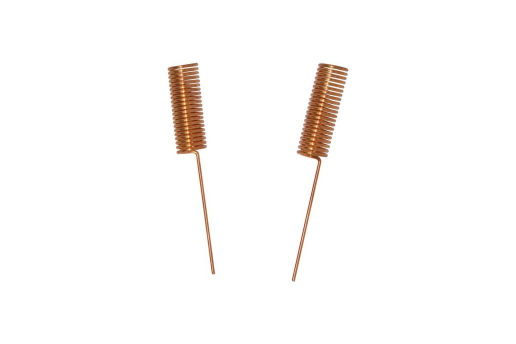 10pcs SW490-TH14 copper plated spring antenna 1