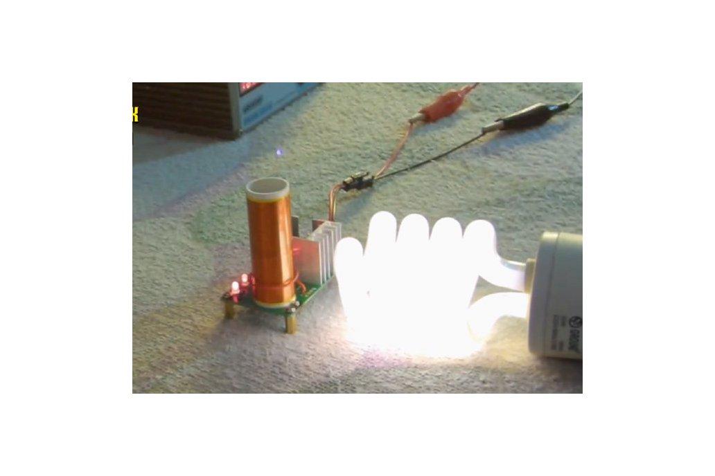 Mini Tesla Coil Plasma Arc Speaker DIY Kit (13034) 1