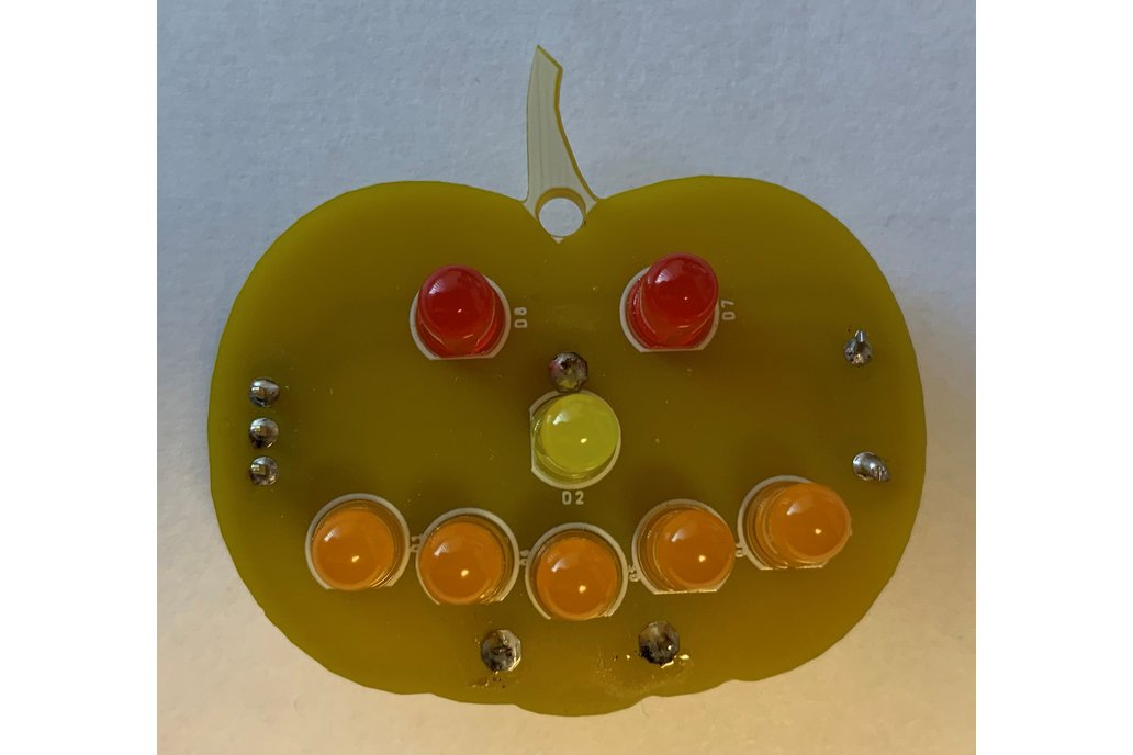 LED Pumpkin Kit Halloween 1