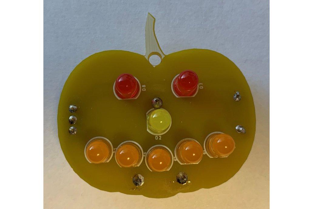 LED Pumpkin Kit Halloween 1