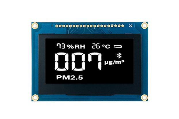 2.7 inch 128x64 OLED Display Module Yellow or Blue