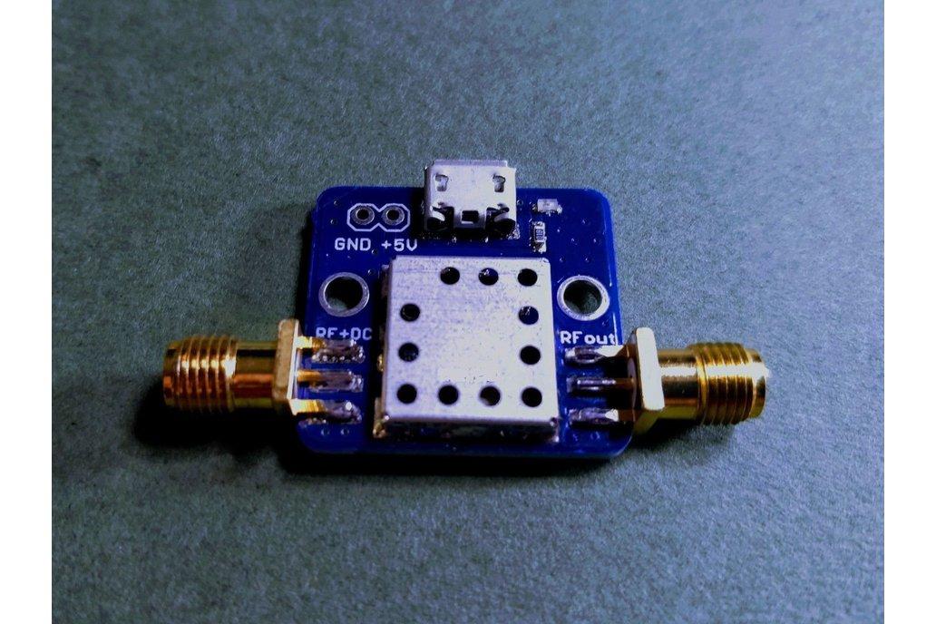 1575 MHz GPS L1 Band Pass Filter w/ BIAS-TEE +3.3V 1