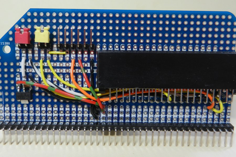 Prototype PCB for RC2014