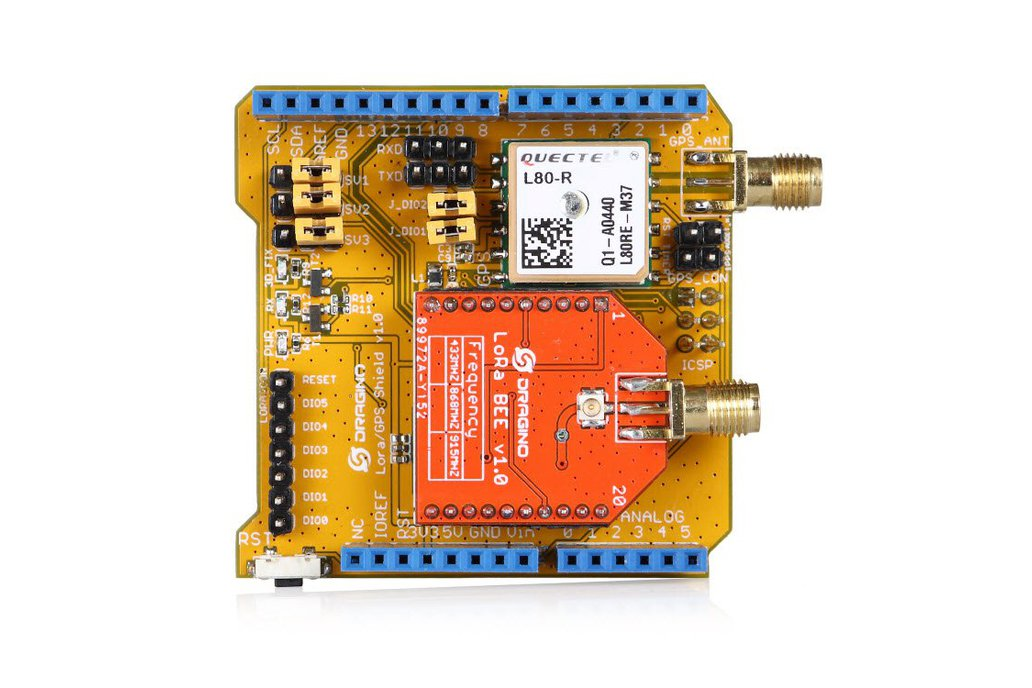 Lora/GPS shield for Arduino 1