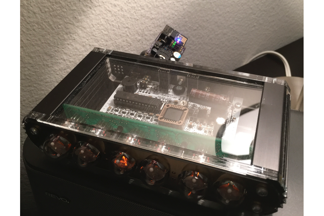 nwts - NTP sync over Wi-Fi for Nixie clocks kit 6