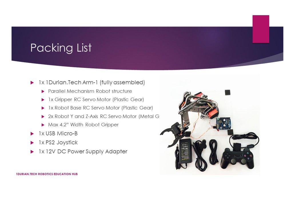 1Durian.Tech Robotics ARM-1 3