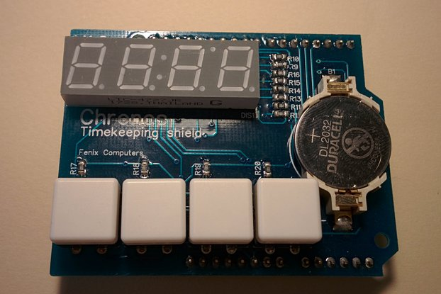 Chronos - the timekeeping shield for Arduino