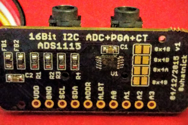 ADS1115 Module with CT/Grove Connectors