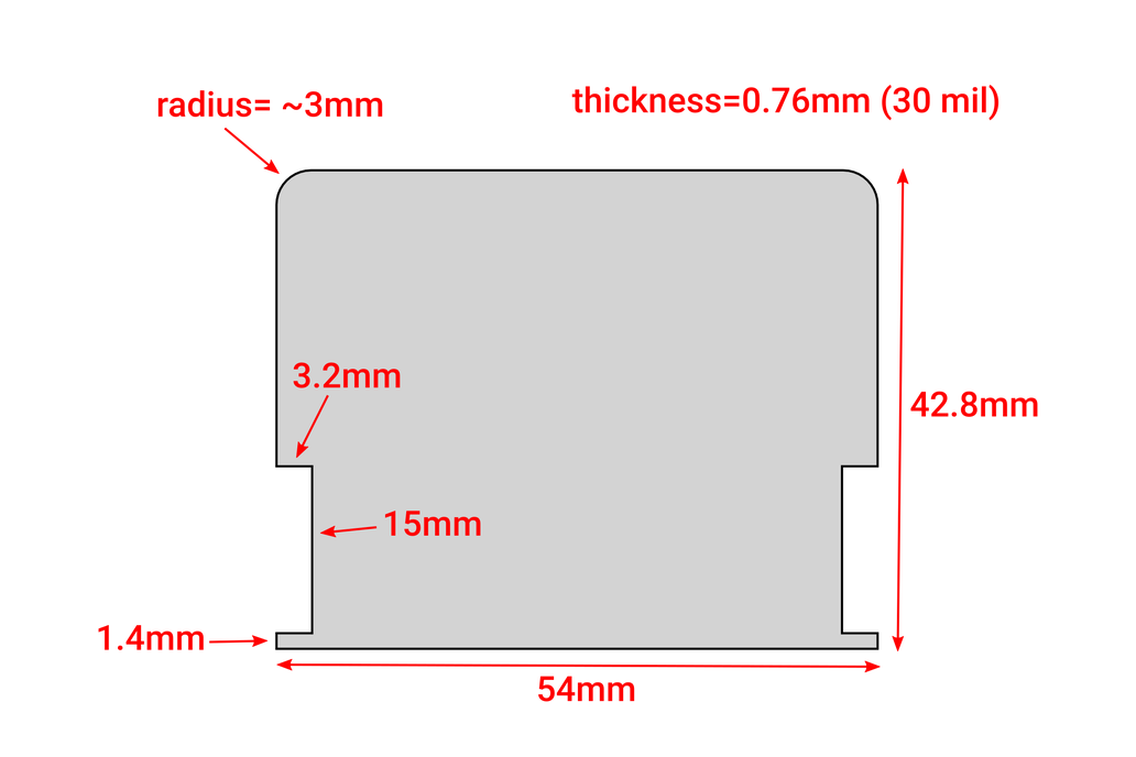 Blank split-flap display flaps 5