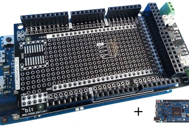 Arduino DUE Dual CAN Kit