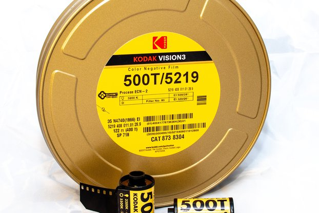 35 mm Kodak VISION3 500T/5219 Color Negative Film