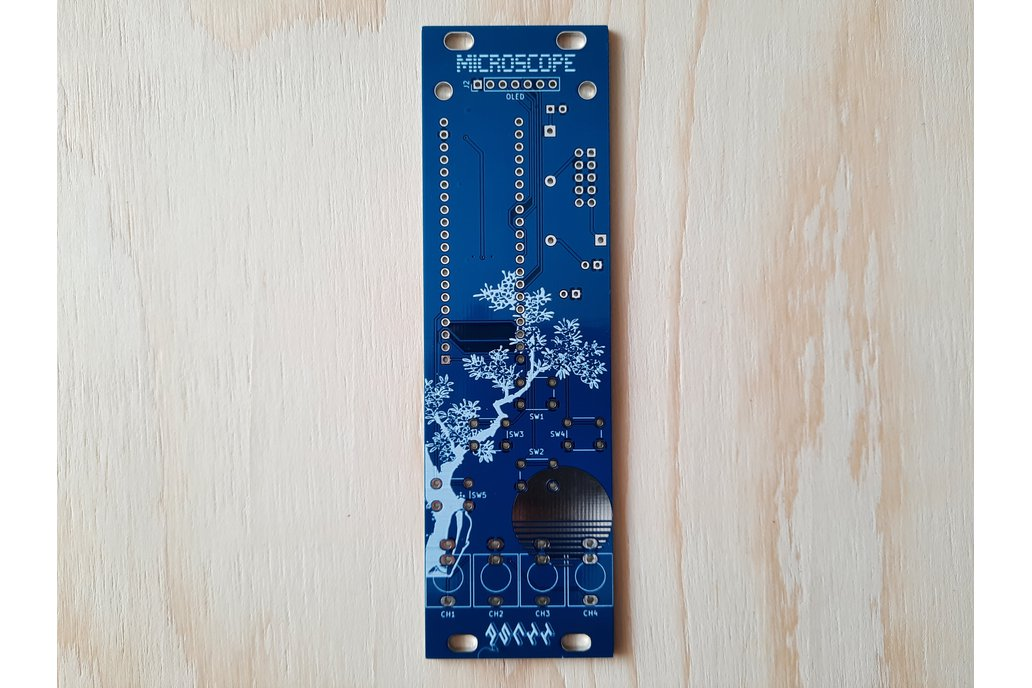 MicroScope - Eurorack oscilloscope module Kit- 8HP 1