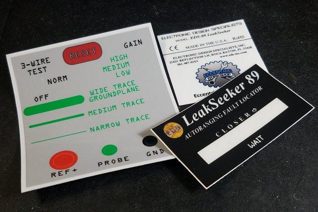 LeakSeeker 89 Enclosure Label Set