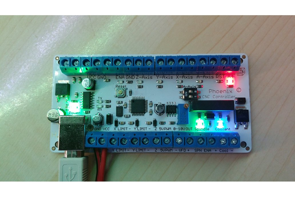 Phoenix USB CNC Controller with PWM Output 1