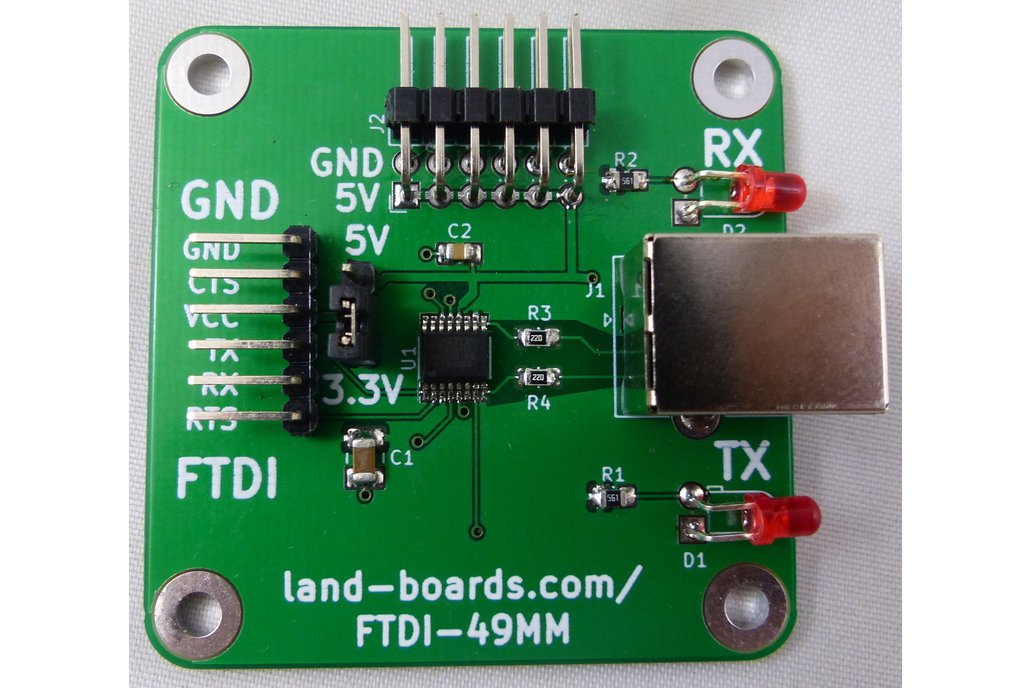 FTDI Card with Extra Features 1