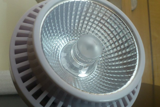 50W LED lamp with multicolor chip