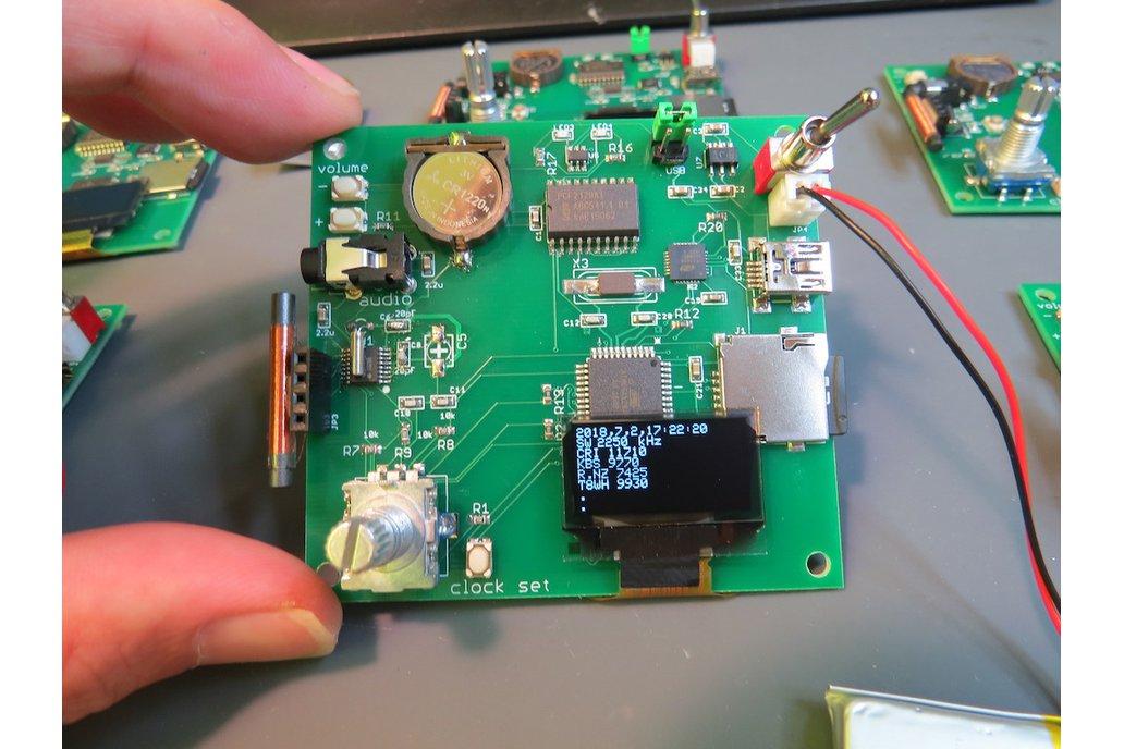 DSP radio chip based LW-MW-SW-FM receiver 1